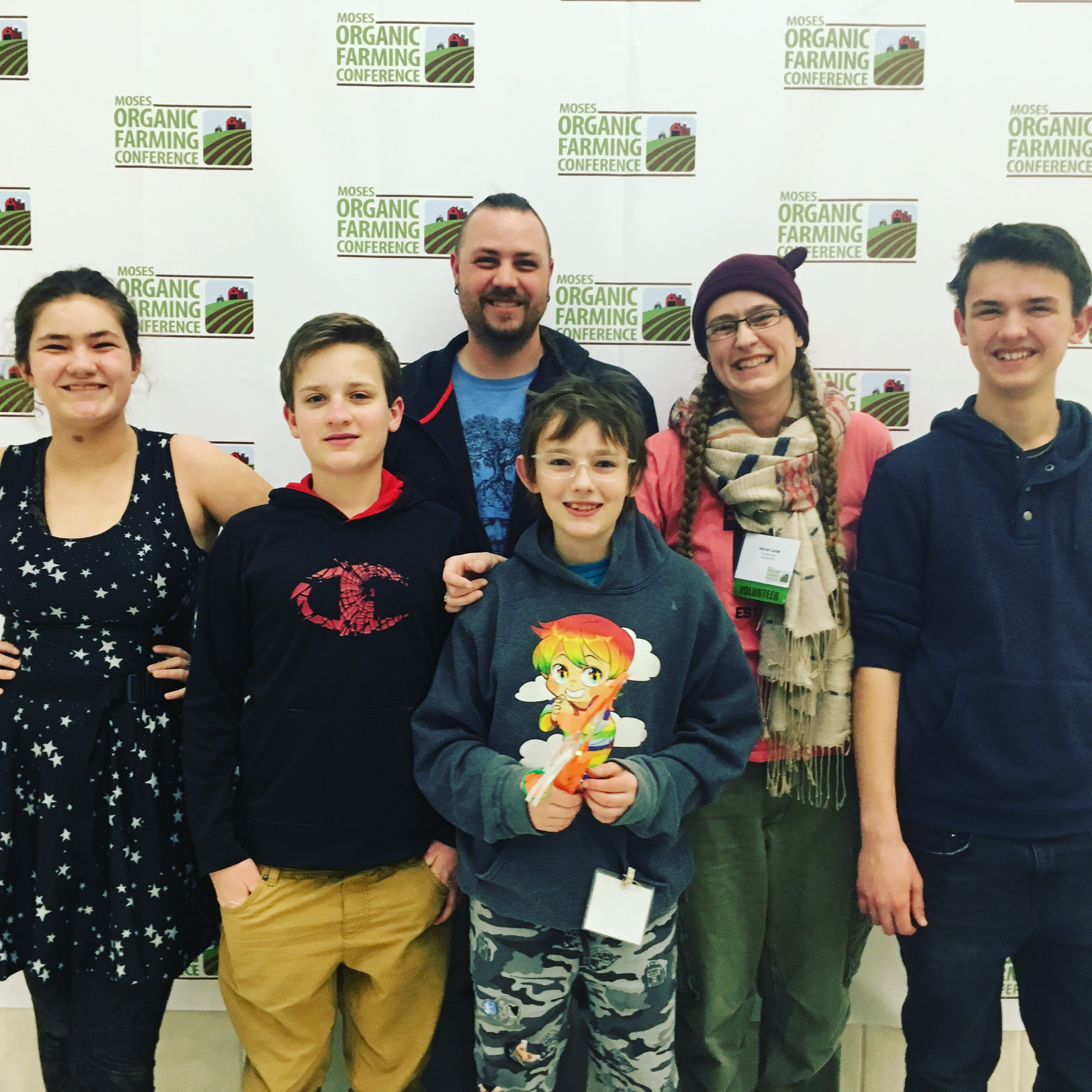 Adventures at the MOSES Organic Farming Conference